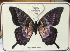 Hayley's mothers day card