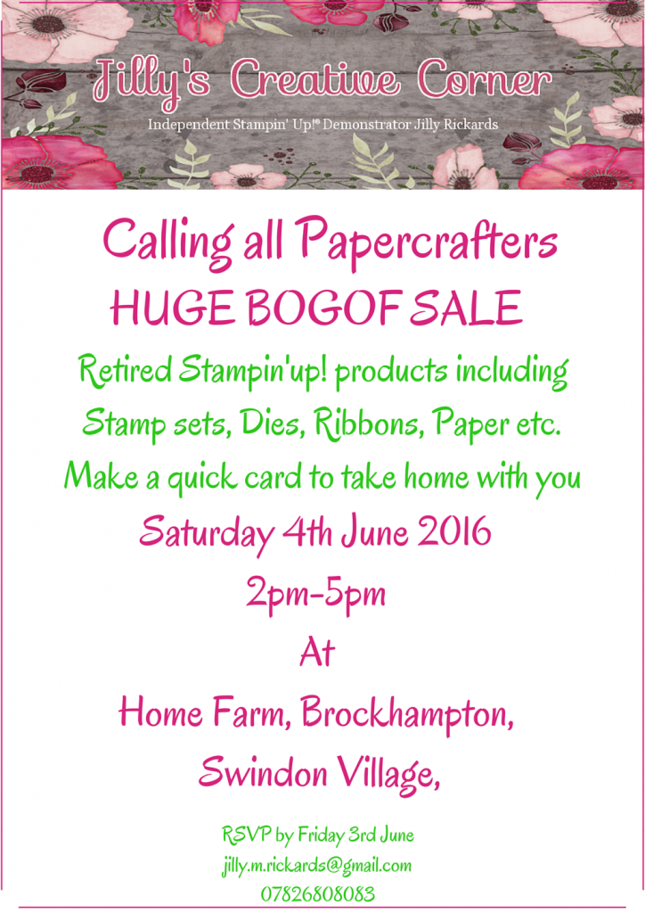 Calling all papercrafters FINAL FINAL