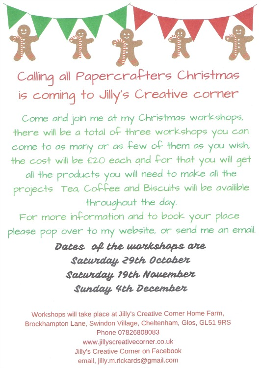 Christmas Workshop Poster 2016