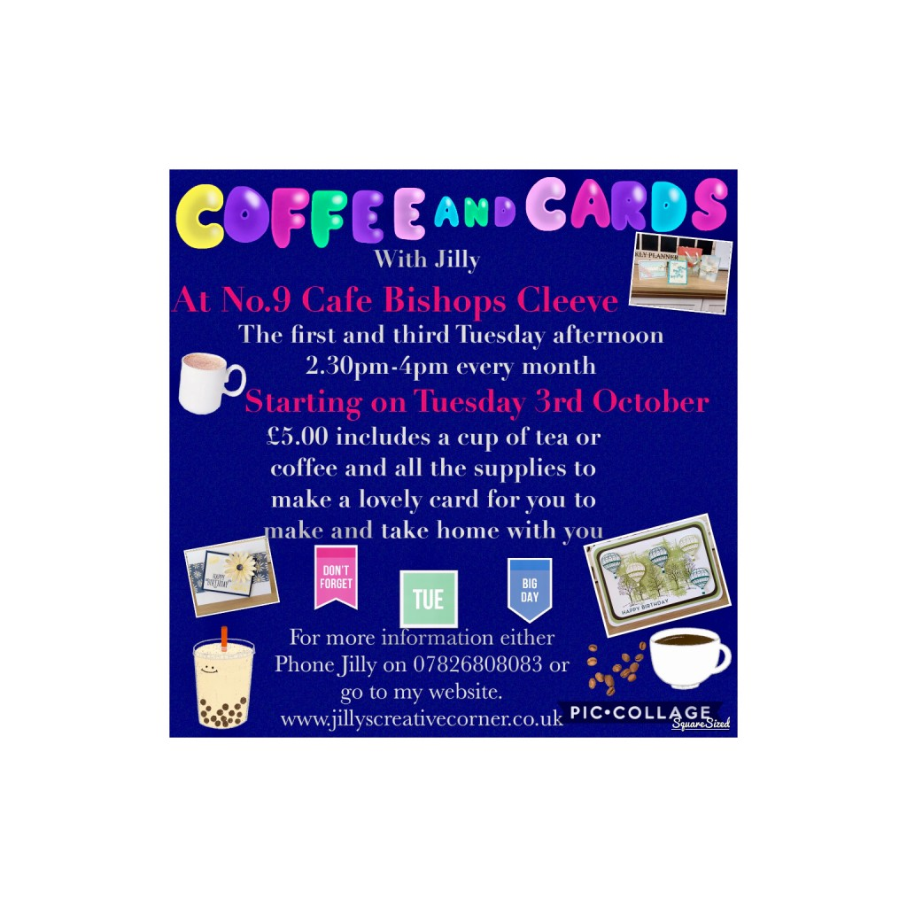 Coffee &Cards Poster