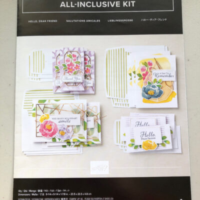 How to make the Hello Dear Friend Kit! Youtube video