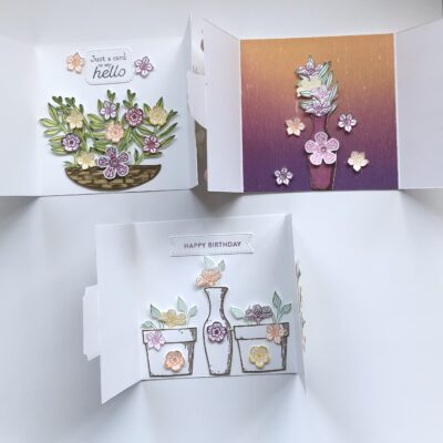 Beautiful Gatefold Card for Mothers day :-)