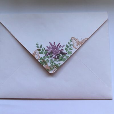 How to make Large envelope to go with my latest video