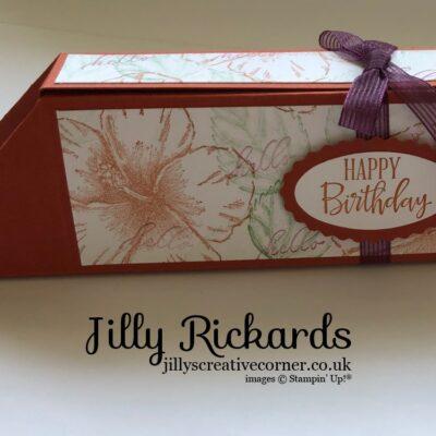 Unusual but Spacious gift box.