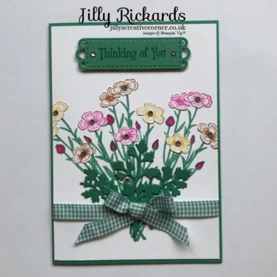 Beautiful Bouquet of flowers Card