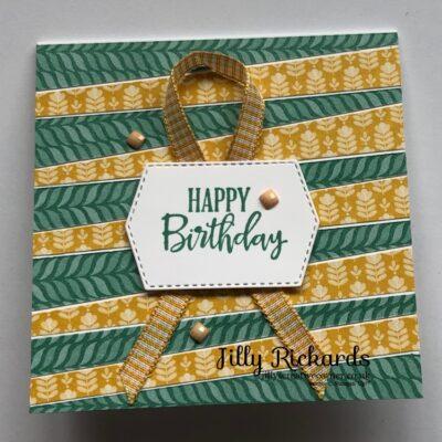 Economical but Stunning Birthday card